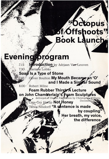 'Octopus of Offshoots: Launch' poster